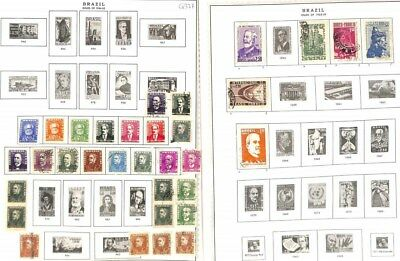 Q327-Brazil Collection Mint & Used