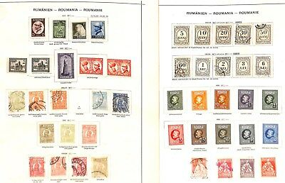 Q510-Romania Collection-Mint & Used