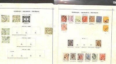 Q507-Romania Collection-Mint & Used
