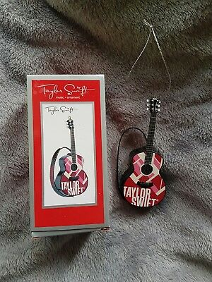 Taylor Swift Red Guitar Christmas decoration.