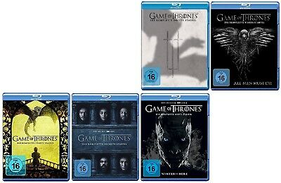 Game of Thrones Staffel 3-7 (3+4+5+6+7) Blu-ray Set NEU OVP