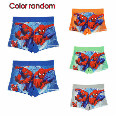 Kids Spiderman Underwear Panties Briefs Baby Cotton Boxers Random For Boys