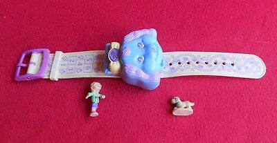 Vintage Polly Pocket 1995 Polly Loves Puppy Bracelet 100% Complete EUC