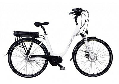 ORDICA Step Thru Electric Bike in White
