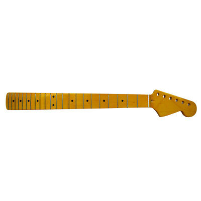 New 1pcs Maple Electric Guitar Neck 22 Frets for Fender Strat Guitar Replacement