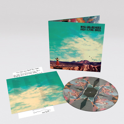 Noel Gallagher High Flying Birds - Who Built The Moon Vinyl - Picture Disc {New}