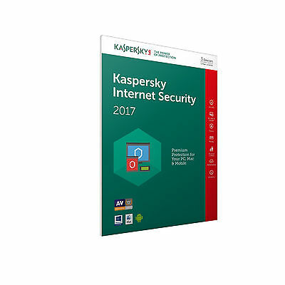 Kaspersky Internet Security 2017 - 1 PC 1 anno - Licenza elettronica ESD