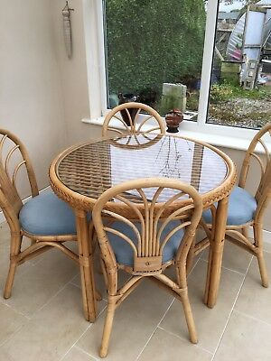 Conservatory Furniture dining set and side table (Cane)