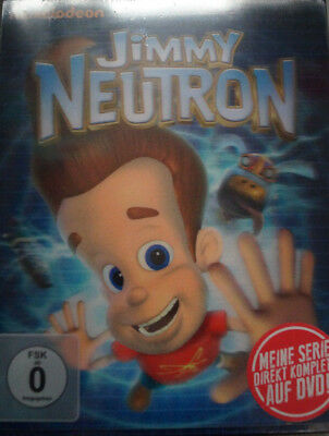 Jimmy Neutron Die komplette Serie Limited Edition 9 DVD Box, 3D Cover NEU & OVP