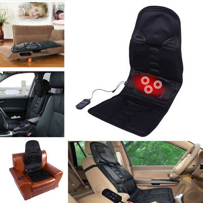 Electric Massage Chair Seat Car Home Office Full Body Back Neck Relaxation Antis