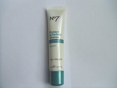 No 7 Protect And Perfect Intense Advanced Serum 30ml Anti Ageing (NO BOX)