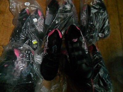 Joblot Womans Girls Mercury Pink Black Trainers Wholesale Clearance, Resell New