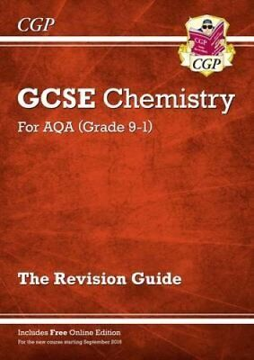 New Grade 9-1 GCSE Chemistry: AQA Revision Guide with Online Ed... 9781782945574