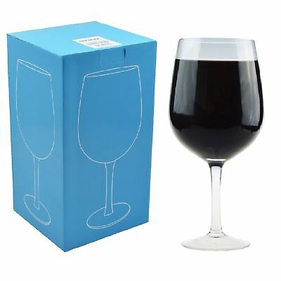Giant Wine Party Cocktail Glass. Holder a Whole Bottle Of Wine - 750ml