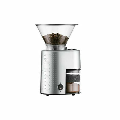 Bodum 1090370UK1 Bistro Electric Coffee Burr Grinder Stainless Steel