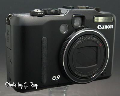 "CANON G9 Mechanically Reconditioned Digital Camera-Viewfinder-3"" LCD-SHARP"