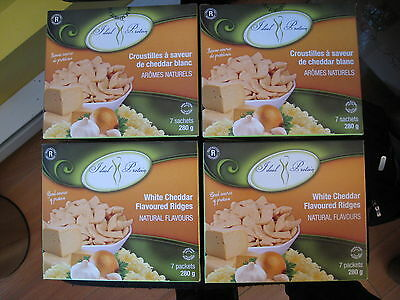 Ideal Protein Snacks White Cheddar Flavoured  Ridges (4 Boxes Of 7)