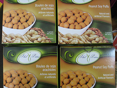 Ideal Protein Peanut Soy Puffs(4 Boxes Of 7)