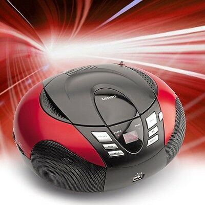 Portable CD Player MP3-Player Hi-Fi System USB Radio LED Display AUX