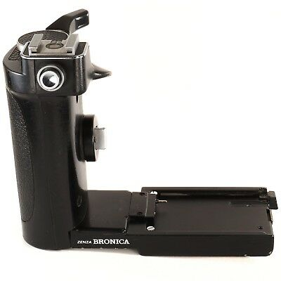 Zenza Bronica Speed Grip-E with Flash Shoe for ETR ETRC ETRS ETRSi ETR-C (UU82H)