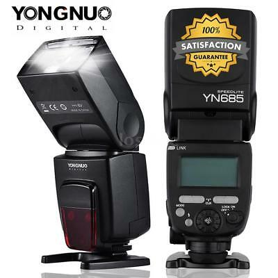 YONGNUO YN685 ETTL HSS GN60 2.4G Flash Speedlite Light 622C/603 for Canon Camera