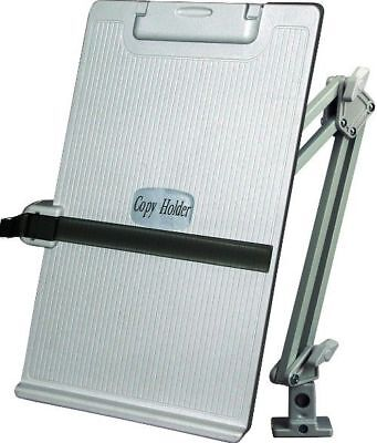 Aidata CH012A Metal Arm Copy Holder, Copy holder, Easily View Copy Material