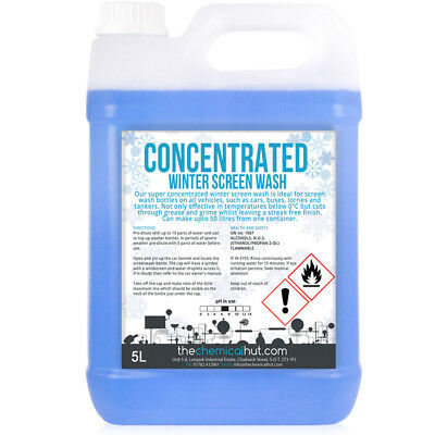 Winter Concentrated Car Cleaning Windscreen Fluid Screen Wash