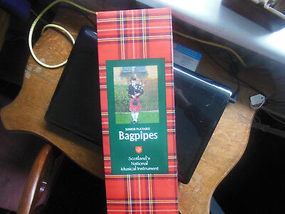 New in boxjunipr playable BAGPIPES Royal  Stewart