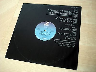 Afrika Bambaataa & Soulsonic Force Looking For The Perfect Beat 21 1983