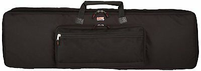 Gator Cases Padded Keyboard Gig Bag; Fits Slim Line 88 Note Keyboards GKB-88