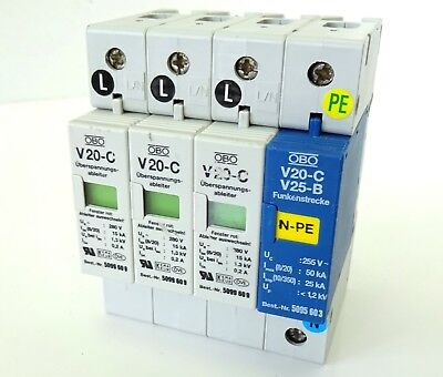 OBO Überspannungsableiter Surge Controller V20-C V25-B NPE 5095603 5099609