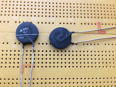 NTC Thermistor 4.7Ω 5.1A 90s Soft Start Inrush Protection Multi Qty