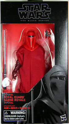 "Star Wars Black Series ~ 6"" IMPERIAL ROYAL GUARD ACTION FIGURE ~ Episode VI"