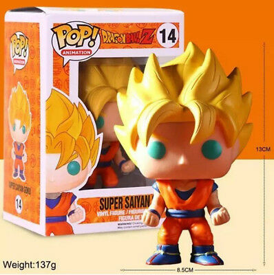 pop Dragon Ball Z series for Super Saiyan toy Hand model Hobbies Decoration gift