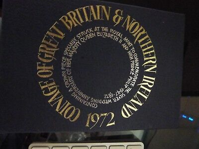 1972 Royal Mint Proof Set Coinage Of Great Britain & Northern Ireland
