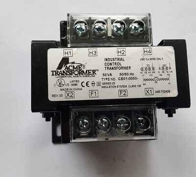 Acme Ce01-0050 50Va Transformer ((In10S1B4))