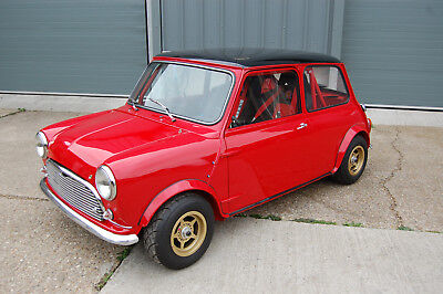 Classic Mini with ZZR1100 Motorbike engine, Mini Cooper, Race Mini, Barnfind