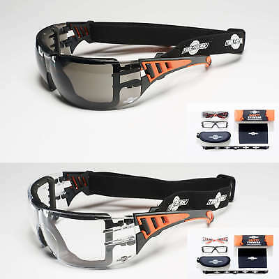 ToolFreak Safety Glasses | Eye Protection | Can Also Be Worn As Safety Goggles