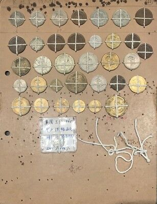 Lot of 35 Coins from Uruguay