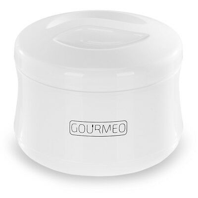 GOURMEO Yoghurt Maker for greek yoghurt, soy yoghurt, curd, 1 litre volume, manu