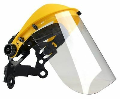 Oregon safety clear poly visor with headband ideal for Stihl & Husqvarna users
