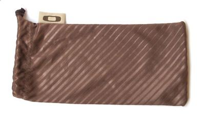 Oakley Custodia Morbida Brown Soft Case Bags  Marrone Occhiale Astuccio