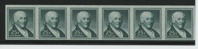 Mr Fancy Cancel Scott 1059a MNH 25c Imperf Pair (3) CV$90 as 3