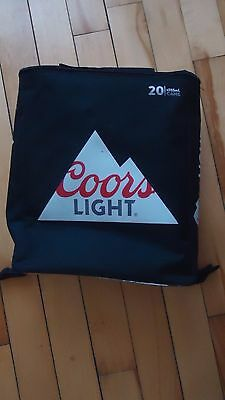 Coors Light insulated BACKPACK BEER Bag  cooler