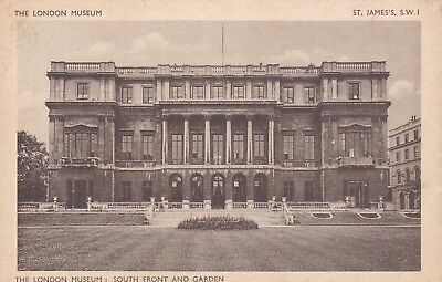Postcard The London Museum South Front And Garden St James's SW1 Waterlow