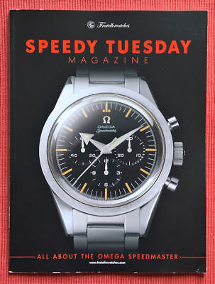 OMEGA - SPEEDY TUESDAY Magazin - Limited , May 2017 - in Englisch