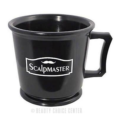 Burmax Scalpmaster Rubberized Professional Shaving Mug