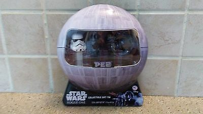 Star Wars Rogue One PEZ Candy Dispensers Collectible Tin ( NEW )