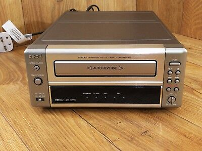 Denon DRR M10 Cassette Player Working and Very Good Condition