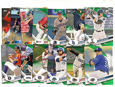 2016 2017 Topps Pro Debut Numbered Parallel Lot (13) Tyler O'Neill #/50 +++